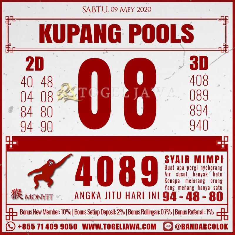 Prediksi KupangPool Tanggal 2020-05-09