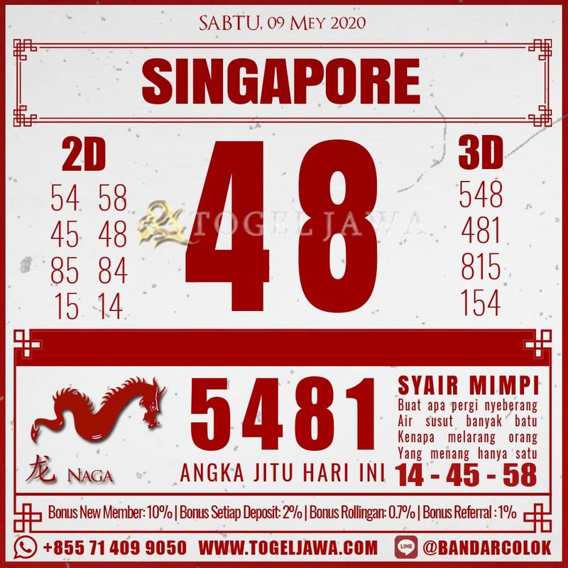 Prediksi Singapore Tanggal 2020-05-09